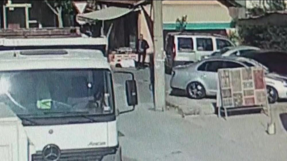 Antalya'daki eş cinayeti güvenlik kamerasında