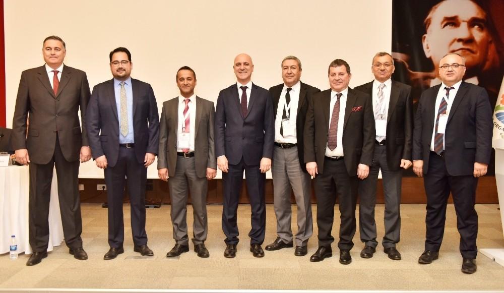 AOSB Başkanlığı'na Ali Bahar yeniden seçildi