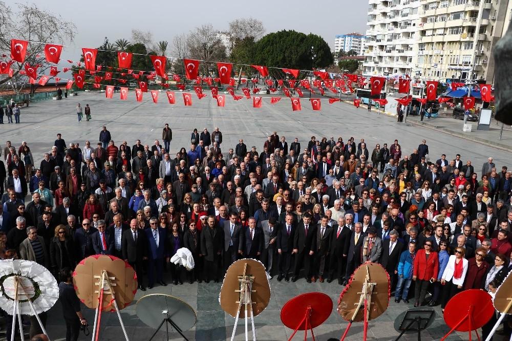 Atatürk'ün Antalya'ya gelişinin 88. yıldönümü