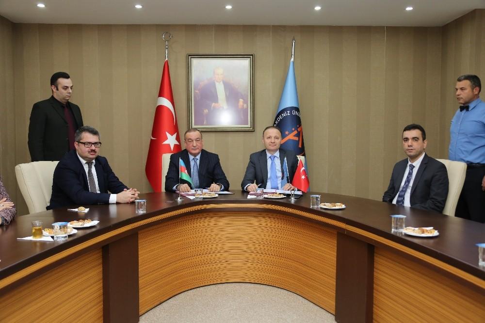 AÜ'den işbirliği protokolü