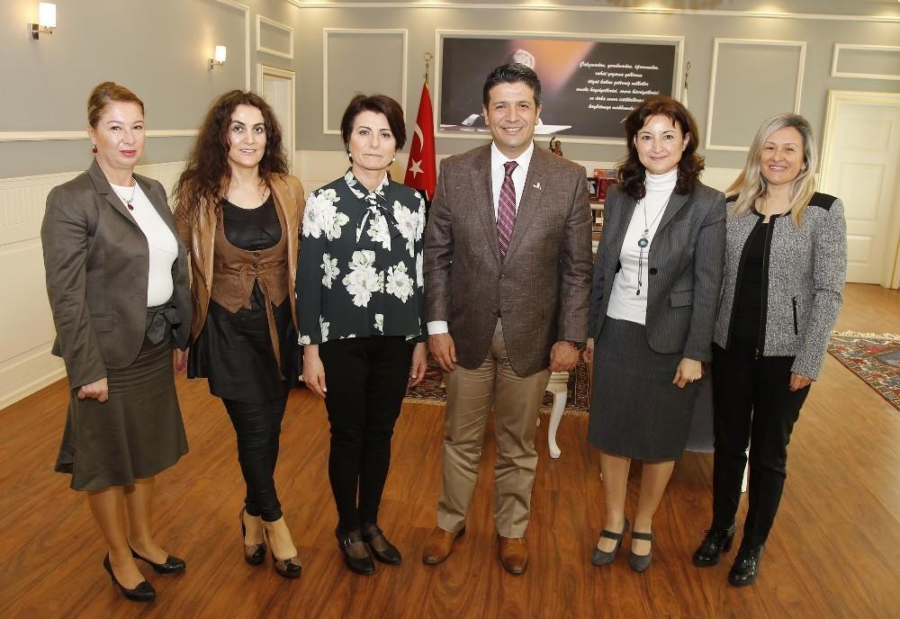 Başkan Genç, İş kadınlarını ağırladı