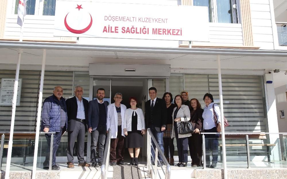 Başkan Genç'ten, 14 Mart Tıp Bayramı ziyaretleri