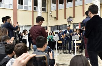 Başkan Uysal, bahar şenliğine katıldı