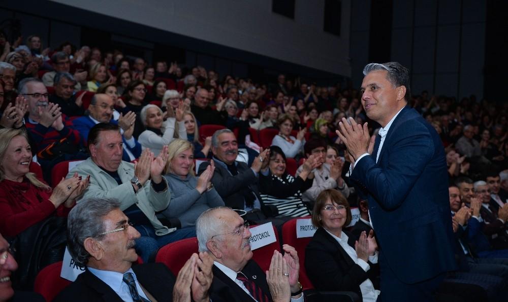 Başkan Uysal meslektaşlarıyla konserde buluştu