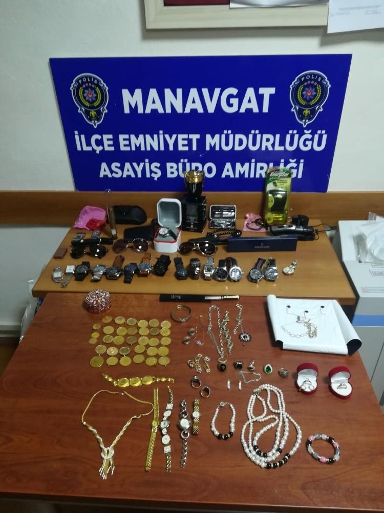 Cezaevi firarisi hırsız Manavgat'ta yakalandı, girdiği evlerin sayısını hatırlayamadı
