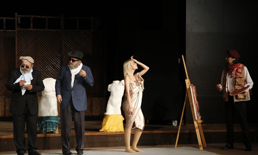 DHT, Dünya Tiyatrolar Gününde sahne aldı