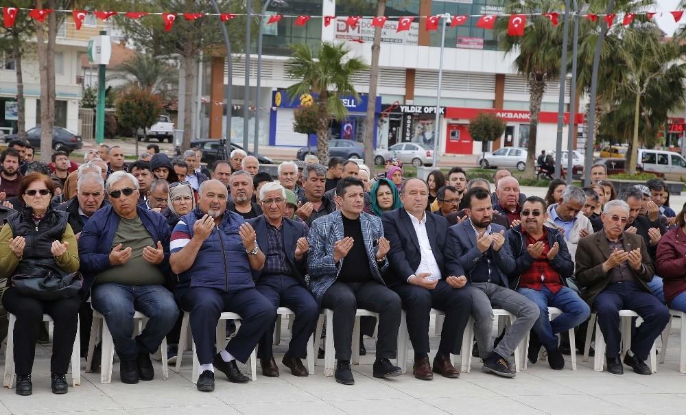 Döşemealtı'nda Çanakkale Şehitleri unutulmadı