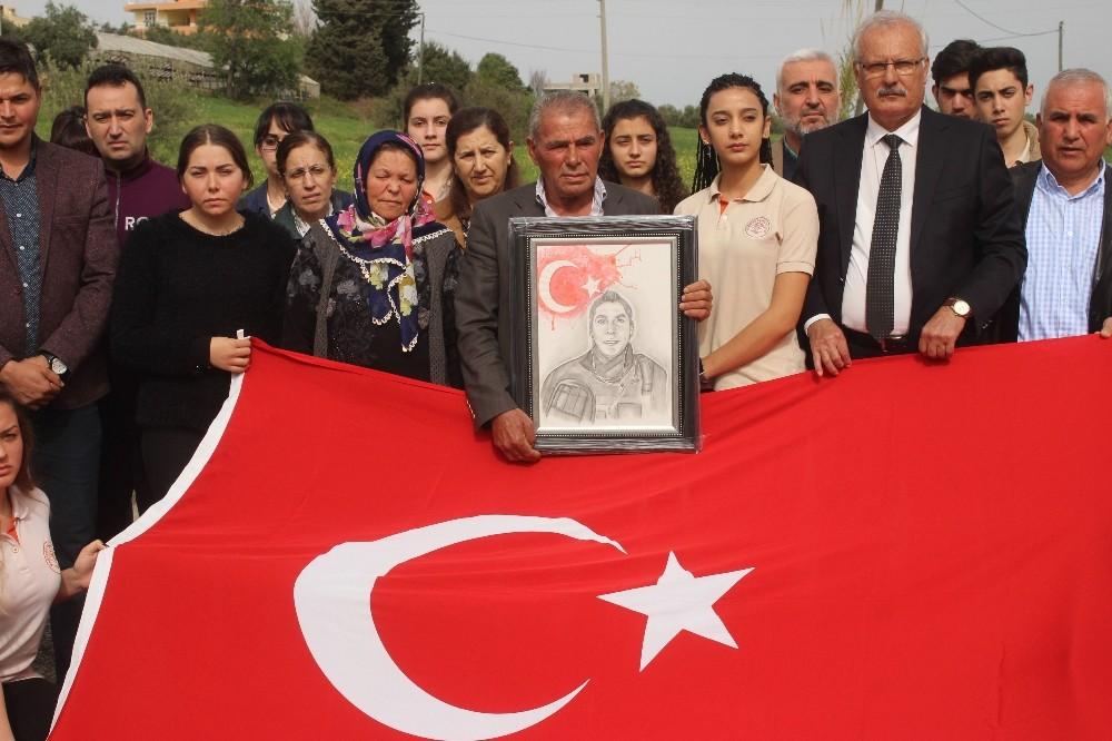 Gazi kızından şehit ailesine anlamlı hediye