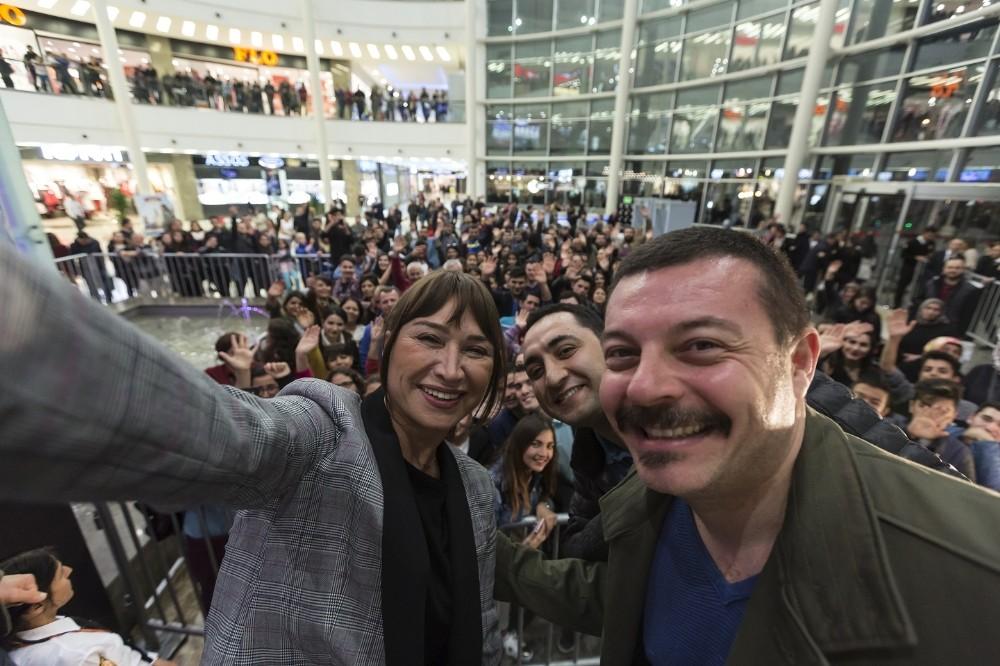 'Görevimiz Tatil' filminin galası Antalya'da yapıldı