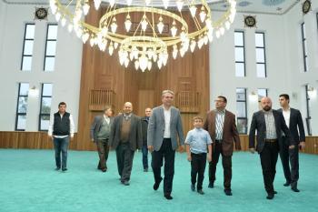 Hacı Şefik Çetin Camii ibadete açıldı