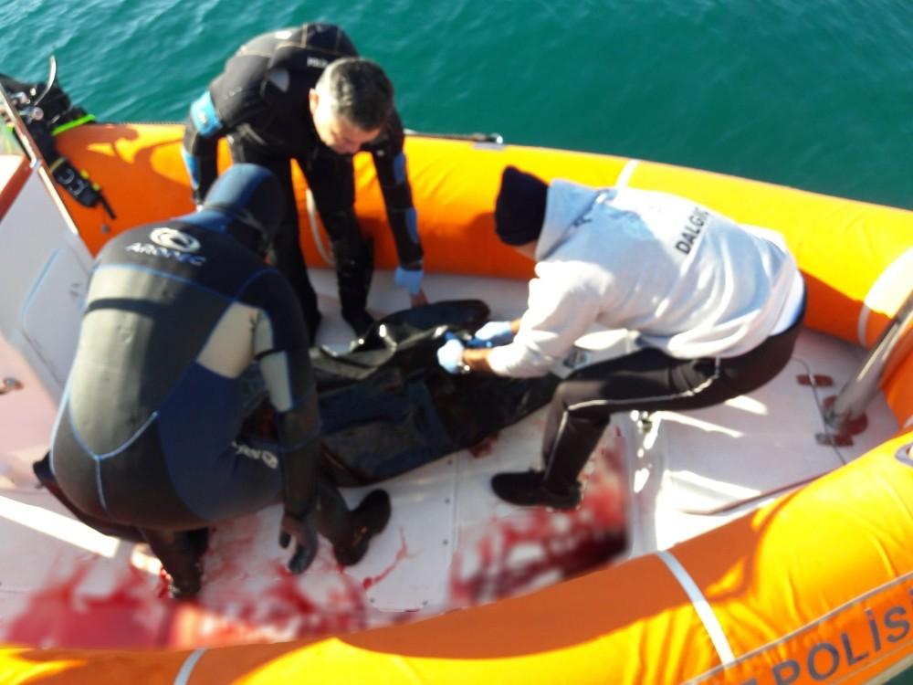 İki gündür aranan gencin cesedi denizde bulundu