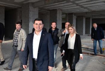 Kepez'de 'Hasta Yakınları Konukevi' yükseliyor