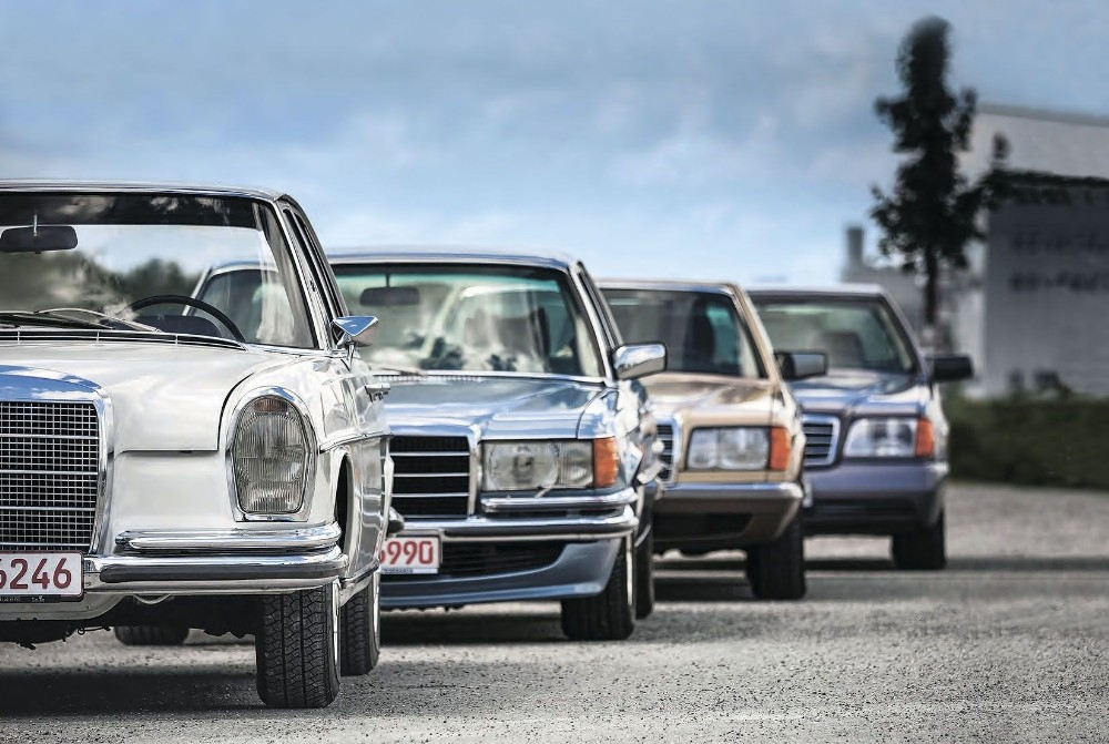 Kepez'de 'Klasik Mercedes Buluşması'
