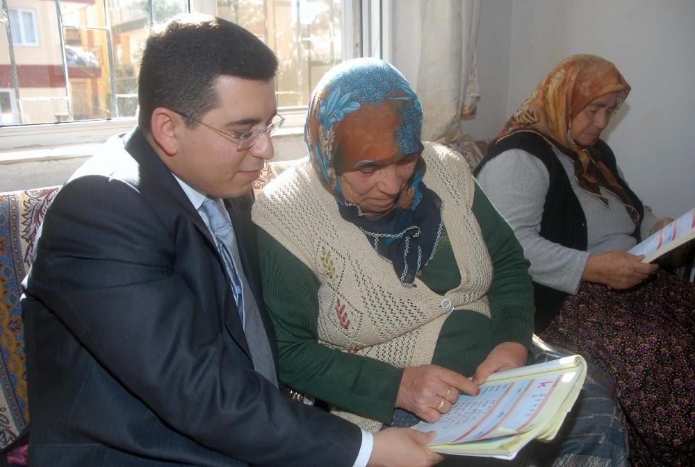 Kepez'de okuma yazma seferberliği