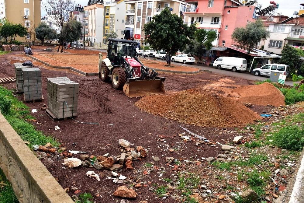 Kepez'e yeni semt parkı