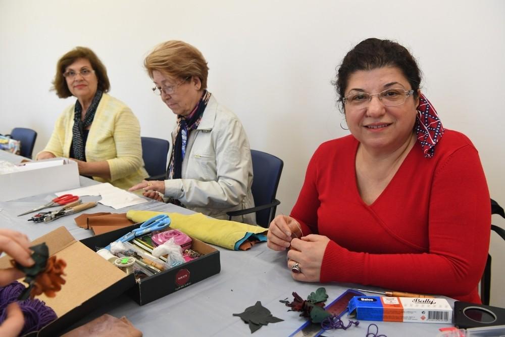 Konyaaltı Belediyesinin, Kadın Sanat Lokali kurslarına büyük ilgi