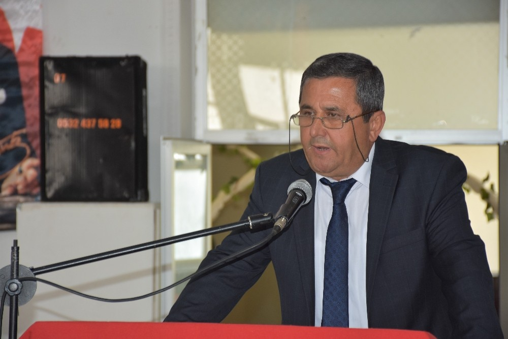 Kumluca Esnaf Odasının yeni başkanı Çınar oldu