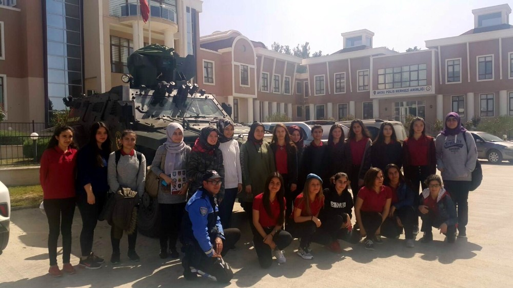 Lise öğrencilerden Özel Harekata ziyaret