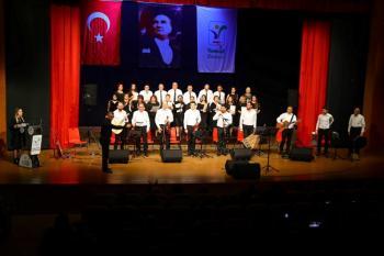 Manavgat Belediyesi TSM Korosu'ndan ilk konser