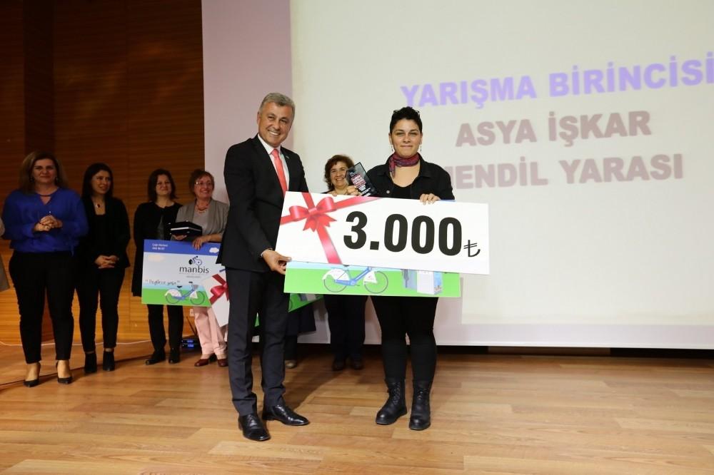 Manavgat Belediyesi'den Kadınlara ödül