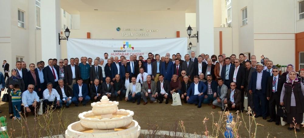 Manavgat Belediyesi'nden Muhtarlar çalıştayı