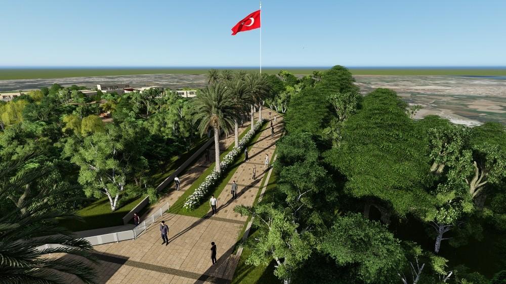 Manavgat kent parkına kavuşuyor