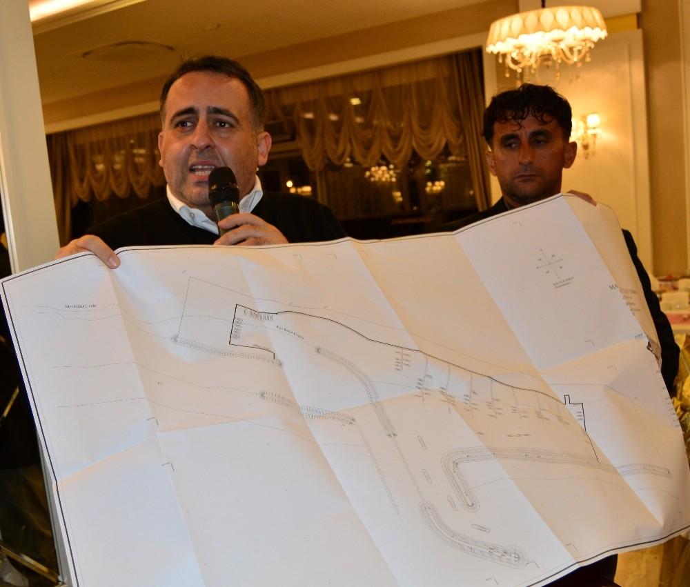 """Manavgat'a """"yat limanı"""" projesi"""