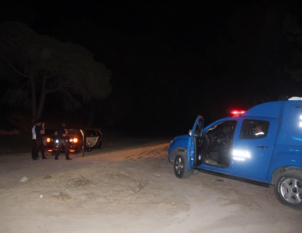 Manavgat'ta çamlık gaspçıları yakalandı