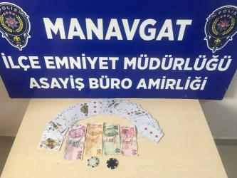 Manavgat'ta kumar baskını