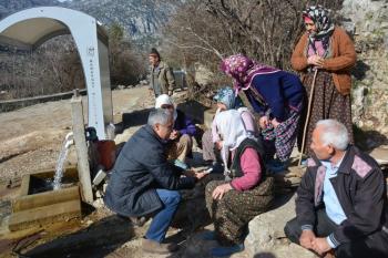 """Manavgat'ta """"Torosların Kadınları Manavgat'ı Geziyor"""" projesi"""