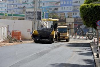Muratpaşa Yenigün'de caddeler yenileniyor