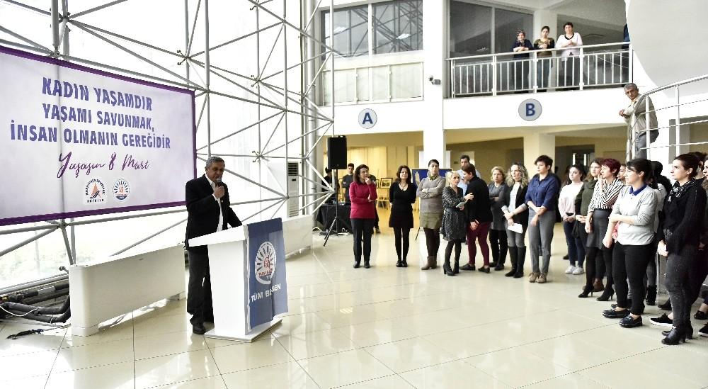 Muratpaşa'da 8 Mart etkinliği
