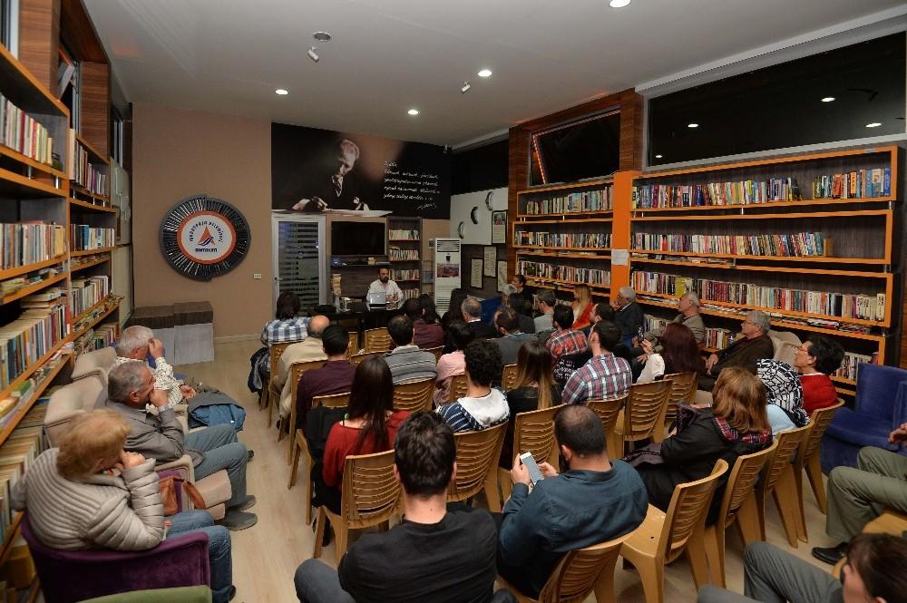 Muratpaşa'da toplum ve tarih söyleşileri