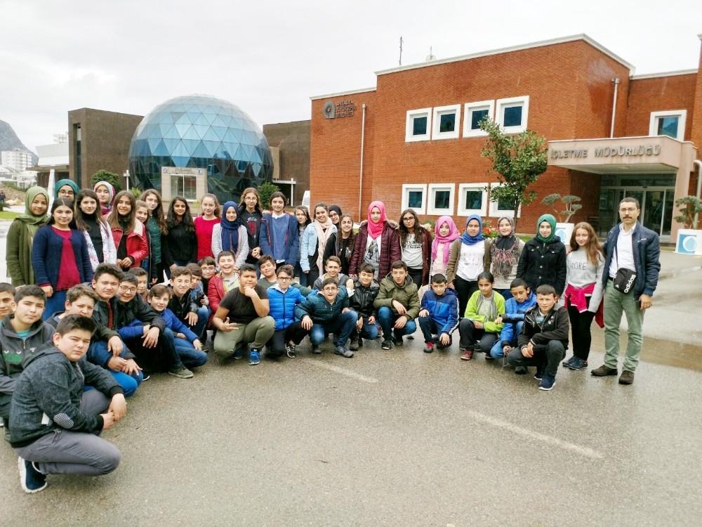 Öğrenciler, Atık Su Arıtma Tesisini inceledi