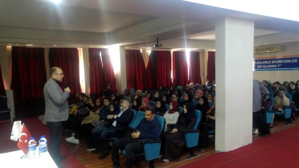Öğrencilere bağımlılık semineri
