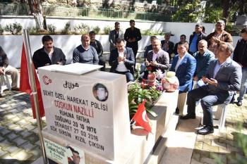 Şehit Nazilli için memleketi Alanya'da mevlit okutuldu