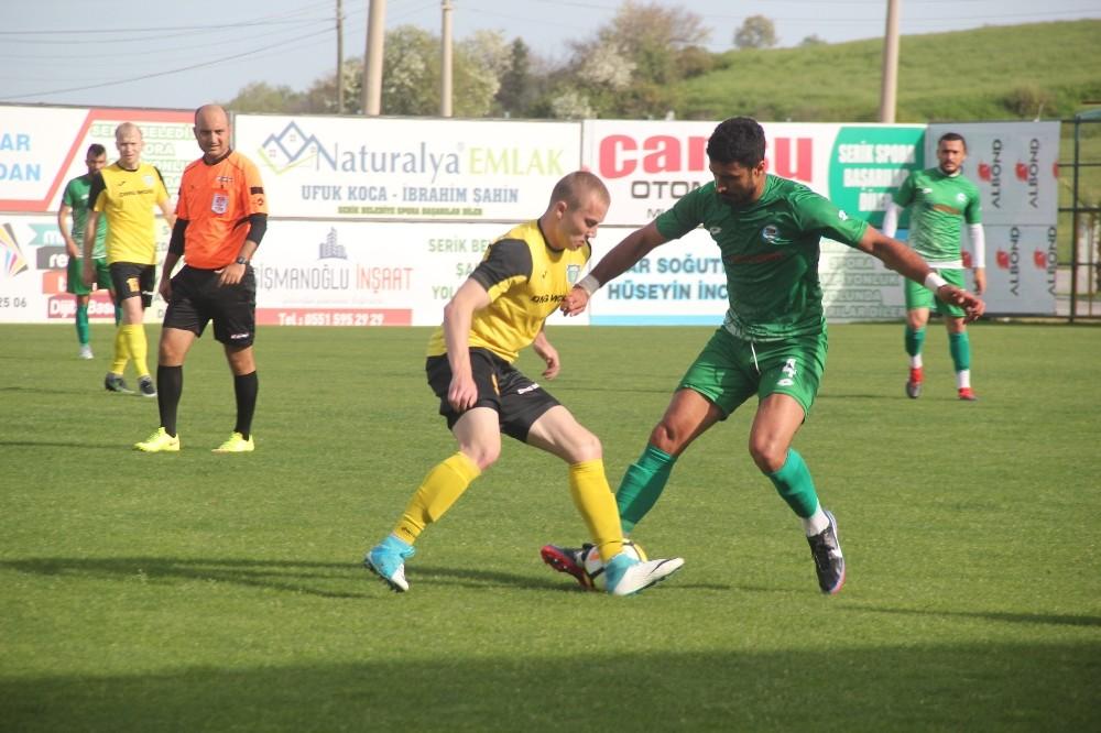 Serik Belediyespor Play-Off'a hazırlanıyor