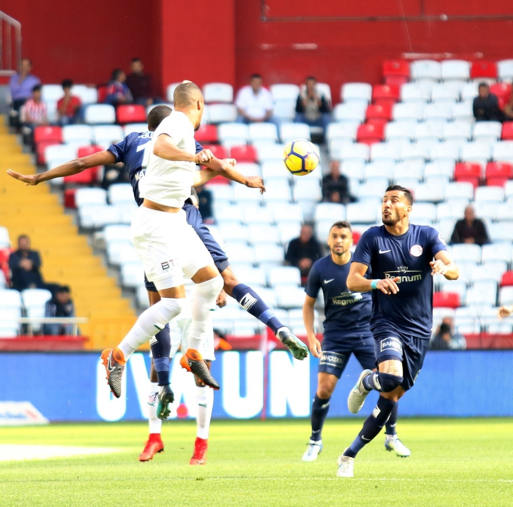 Spor Toto Süper Lig: Antalyaspor: 1 – Bursaspor: 0 (İlk yarı)