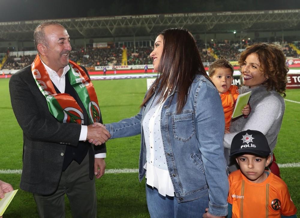 Spor Toto Süper Lig: Aytemiz Alanyaspor: 1 – Medipol Başakşehir: 0 (İlk yarı)