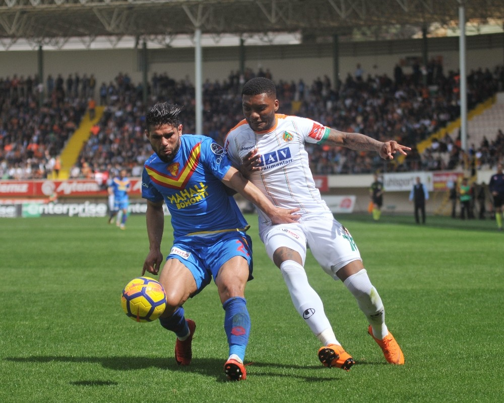 Spor Toto Süper Lig: Aytemiz Alanyspor: 0 – Göztepe: 0 (İlk yarı)