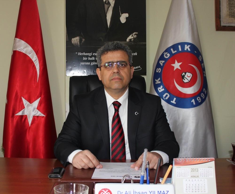 Türk Sağlık Sen Antalya Şubesi Başkanı Yılmaz'dan Tıp Bayramı açıklaması