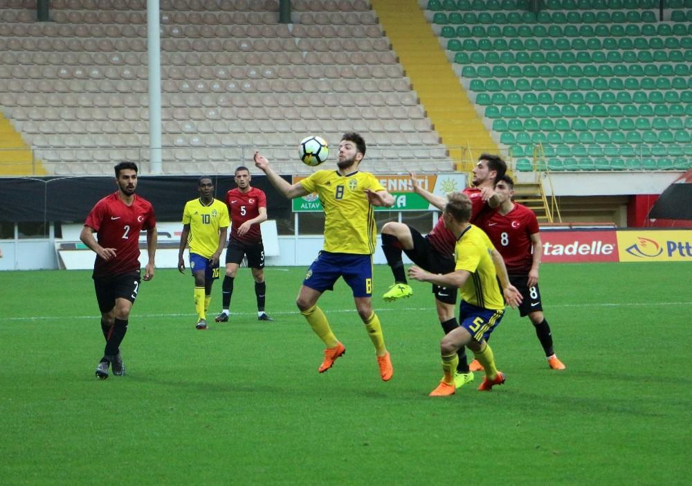 U21 Avrupa Şampiyonası Grup Eleme: Türkiye: 0 – İsveç: 3