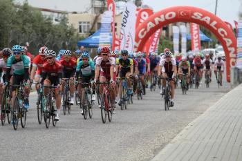 Uluslararası 2.2 Elit Erkekler Yol Bisikleti yarışı başladı