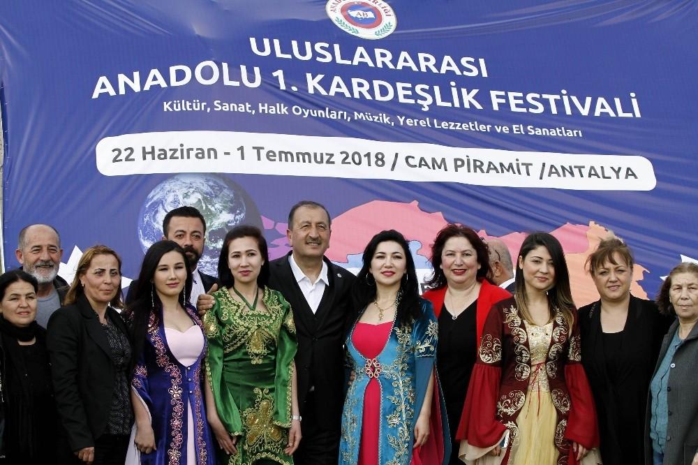 'Uluslararası Anadolu 1. Kardeşlik Festivali'nin tanıtım toplantısında 'şehit' hassasiyeti