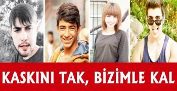 AK Parti Gençlik Kollarından 'Kaskını Tak, Bizimle Kal' etkinliği