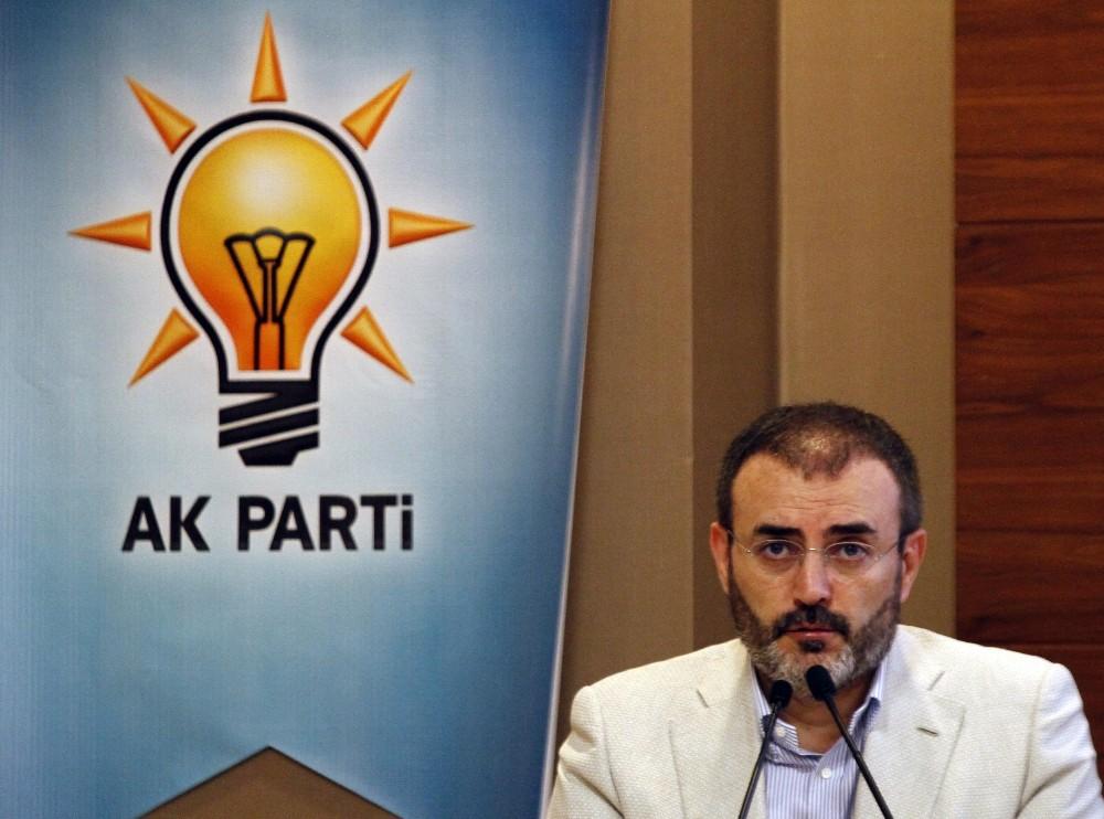 AK Parti Genel Başkan Yardımcısı ve Parti Sözcüsü Mahir Ünal: