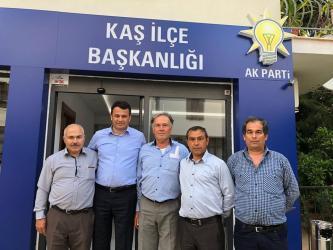 AK Parti Kaş'ta üye kayıtları
