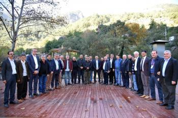 Alanyalı muhtarlar Makedonya gezesine çıkıyor