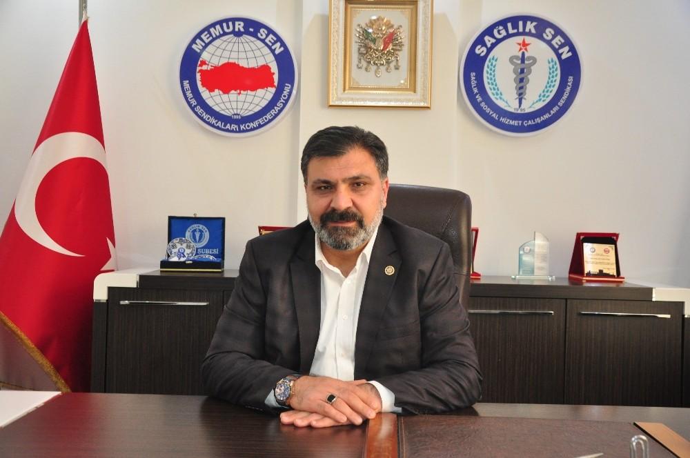 Antalya Sağlık Sen'den Mehmetçik Vakfı'na bağış
