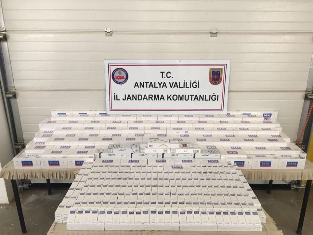 Antalya'da 10 terör örgütü üyesi yakalandı